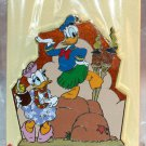 Walt Disney Imagineering WDI Attraction Rewind Polynesian Resort Pin Donald and Daisy Ltd Ed 250