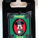 Disneyland Haunted Mansion Pin Mickey Mouse and Bat Limited Edition 1500