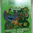 Disneyland Happy St. Patrick's Day 2009 Pin Limited Edition 1000