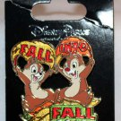 Disney Fall Into Fall 2013 Pin Chip and Dale Limited Edition 2000