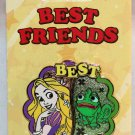 Disney Best Friends 2-Pin Set Tangled's Rapunzel and Pascal Limited Edition 3000