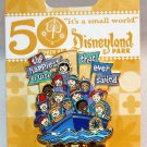 Disneyland It's A Small World 50th Anniversary Pin Happiest Cruise Limited Edition 1500