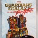 Disneyland Marvel Guardians of the Galaxy Mission Breakout Opening Day Pin Limited Edition 5000