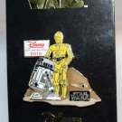 Disney Rewards 2016 Chase Visa Cardmember Pin C-3PO and R2-D2