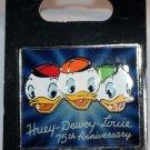 Disney Huey, Dewey and Louiie 75th Anniversary Pin Limited Edition 1000