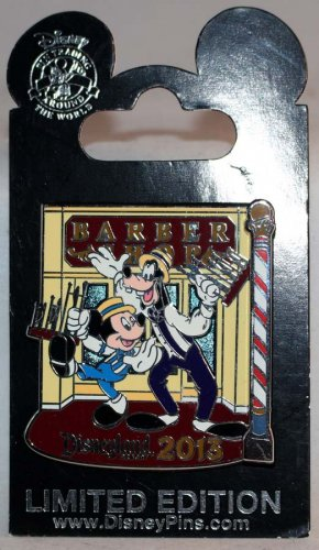 Disneyland Dapper Days 2013 Pin Mickey and Goofy Limited Edition 1000