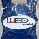 Walt Disney Imagineering WDI Oval WED Logo Pin Color Lettering on White