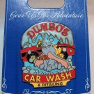 Disneyland Cars Land Gear Up For Adventure Dumbo's Car Wash and Detailing Pin Limited Edition 500