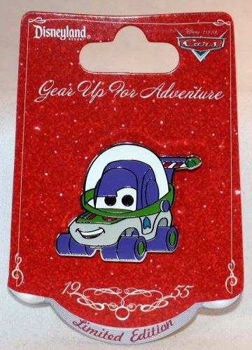 Disneyland Gear Up For Adventure Toy Story Buzz Lightyear Car Pin Limited Edition 500