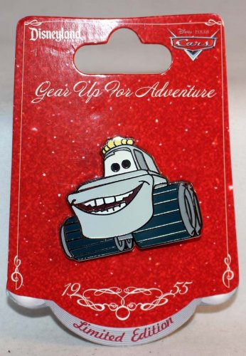 Disneyland Gear Up For Adventure Toy Story Yeti Car Pin Limited Edition 500