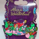 Disney Alice in Wonderland 65th Anniversary Pin Mad Tea Party Limited Edition 3500
