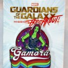 Disneyland Marvel Guardians of the Galaxy Mission Breakout Gamora Pin
