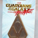 Disneyland Marvel Guardians of the Galaxy Mission Breakout Tivan Logo Pin