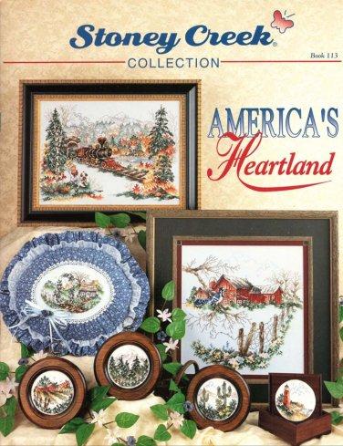 Stoney Creek Collection America's Heartland 10 Designs to Cross Stitch