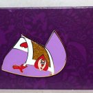 Disney Alice in Wonderland 65th Anniversary Reveal-Conceal Pin Card Guard Limited Release
