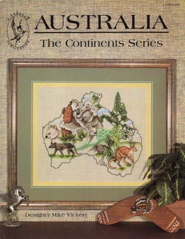 Pegasus Originals The Continent Series Australia in Cross Stitch