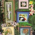 Pegasus Originals Rescue the Rain Forest 5 Designs to Cross Stitch