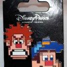Disney Parks Wreck It Ralph and Fix It Felix 2-Pin Set