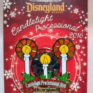 Disneyland Candlelight Processional 2016 Stained Glass Pin Limited Edition 1500