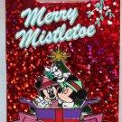 Disneyland Merry Mistletoe 2013 Pin Mickey and Minnie Limited Edition 2000