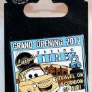 Disneyland Resort Cars Land Luigi's Flying Tires Grand Opening 2012 Limited Edition 2000