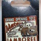 Disneyland Resort Cars Land Mater's Junkyard Jamboree Grand Opening Pin LImited Edition 2000