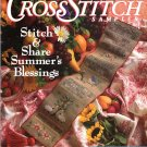 Cross Stitch Sampler Magazine Summer 1992 Issue 13 Projects