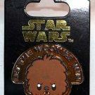 Disney Parks Star Wars Cuties Pin Chewbacca
