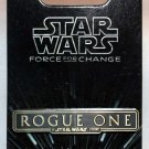 Disney Parks Star Wars Force for Change Rogue One Logo Bar Pin Limited Release
