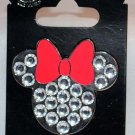 Disney Parks Minnie Mouse Jeweled Icon Pin