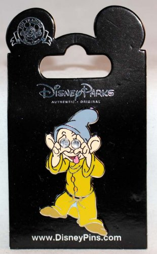 Disney Parks Dopey with Diamond Eyes Pin