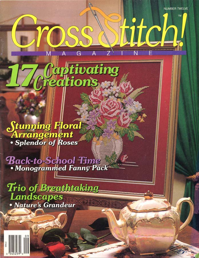 Cross Stitch Magazine Number 12 August-September 1992 Issue 17 Projects