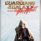 Disneyland Marvel Guardians of the Galaxy Mission Breakout Star Lord Pin
