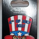 Disney 4th of July 2017 Pin Chip and Dale Limited Edition of 5000