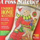 The Cross Stitcher Magazine August 2008 Issue 15 Projects to Stitch Annual Christmas Stocking