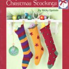 Leisure Arts Nickey's Knitted Christmas Stockings by Nicky Epstein 18 Designs