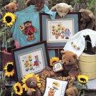 Leisure Arts Sunshine Garden 12 Designs to Cross Stitch