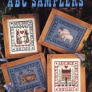 Leisure Arts ABC Samplers 4 Designs to Cross Stitch