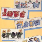 Leisure Arts Just Say the Word 5 Designs to Cross Stitch