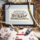 Leisure Arts Home Is Where the Herd Is 9 Designs to Cross Stitch