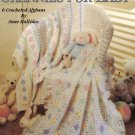 Leisure Arts Grannies for Baby 6 Crocheted Afghans