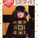 Leisure Arts Granny's Girls' Sweaters 6 Sweaters to Crochet in Red Heart Yarns