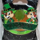 Walt Disney Imagineering WDI St. Patrick's Day 2017 Pin Chip and Dale Limited Edition 250