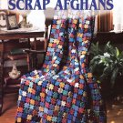 Leisure Arts Old-Timey Scrap Afghans 6 Designs to Crochet in Worsted Weight Yarn