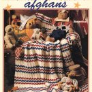 Leisure Arts America The Beautiful Afghans 6 Designs to Crochet of Worsted Weight Yarn