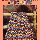 Leisure Arts Scraps Plus Black Equals Afghans 9 Designs to Crochet of Worsted Weight Yarn