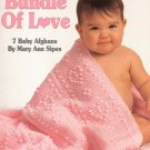 Leisure Arts Bundle of Love 7 Baby Afghans to Crochet in Sport Weight Yarn