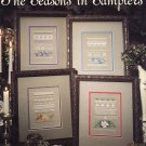 Leisure Arts The Seasons in Samplers 4 Designs to Cross Stitch