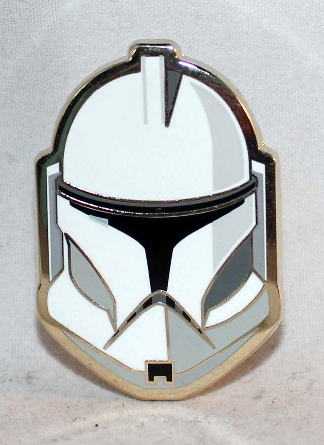 D23 Expo 2017 Disney Store Star Wars Helmet Collection Pin Limited Edition 500 Clone Trooper