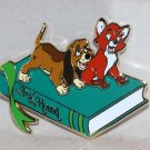Walt Disney Imagineering WDI 2017 D23 Expo Storybook Collection Pin Ltd Ed 250 Fox and Hound